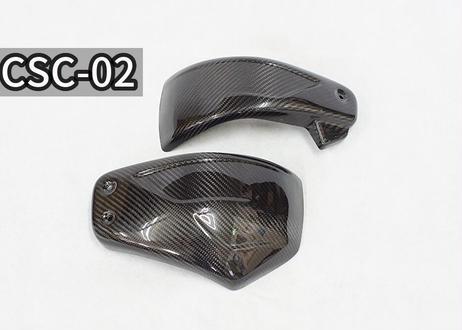 M8ソフテイル用ドライカーボンサイドカバー