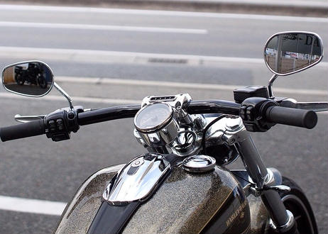 ブレイクアウト ドラッグバーハンドル HB-06 (ブラック)
