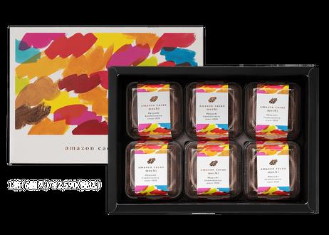 amazon cacao mochi 1箱(6個入り)