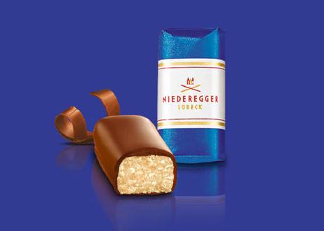 【ニーダーエッガー】マジパン・クラシック ミルクチョコレート