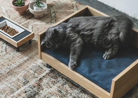 MALTA / pet bed [オーク×ネイビー]