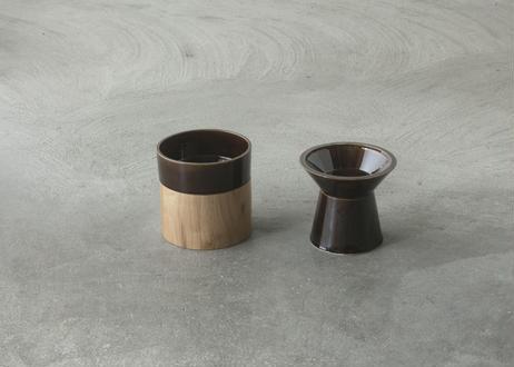 Food & Water Bowl Set [飴]