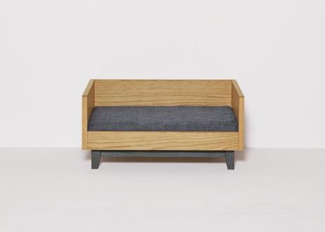 MALTA / pet bed [オーク×ダークグレー]