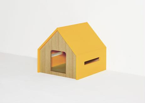 HÜTTE / cat house [イエロー×オーク]