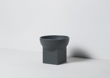 UYUNI / food & water bowl[ダークグレー]