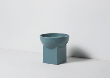 UYUNI / food & water bowl [クラウディターコイズ]