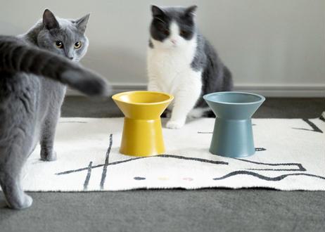 CHALICE / food bowl [クラウディターコイズ]