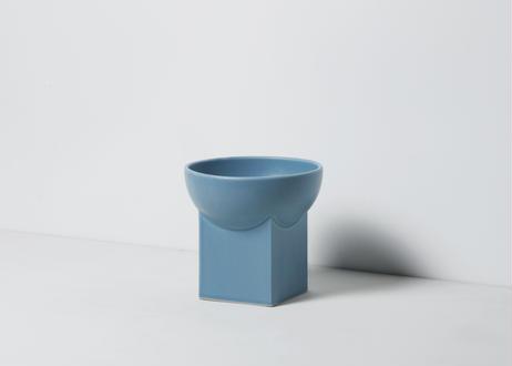 UYUNI / food & water bowl [ミルキーブルー]