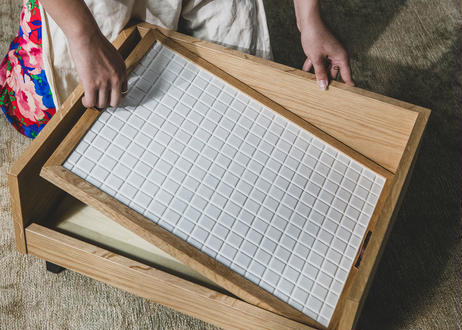 ARCTIC PLUS / cool tile mat [ウォールナット]