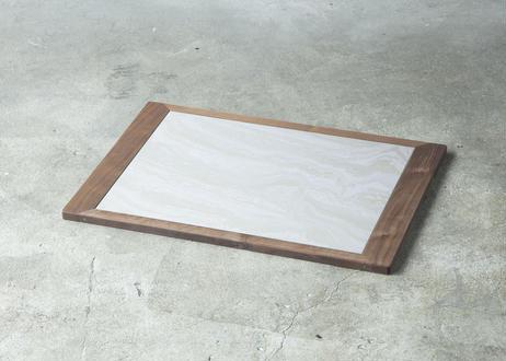 NORDIC / cool tile mat [ウォールナット]