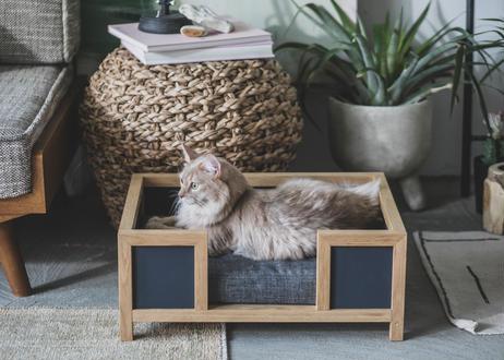 GOTHAM / pet bed [ウォールナット×ダークグレー]