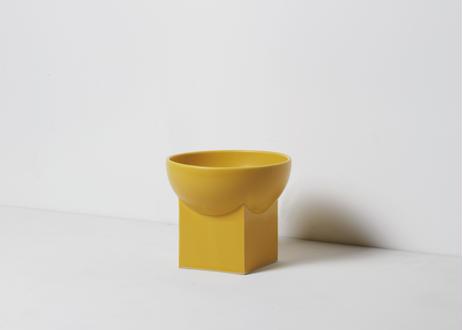 UYUNI / food & water bowl [クロムイエロー]