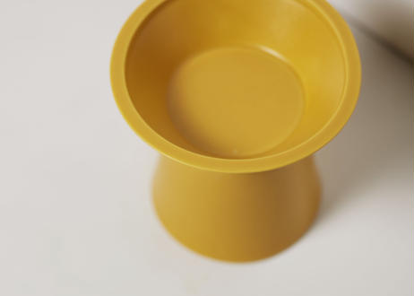 CHALICE / food bowl [クロムイエロー]