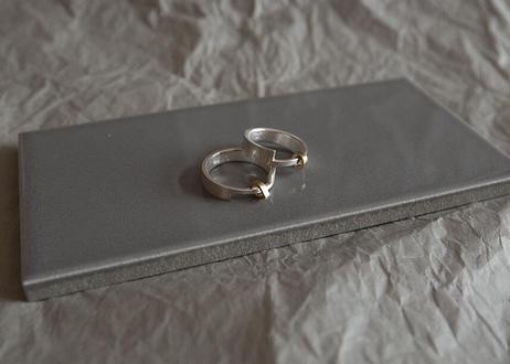 Golden drop ring