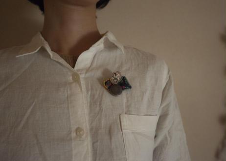 tile&liberty brooch
