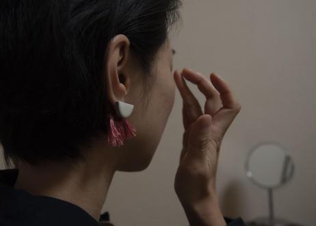 tile&tassels earring