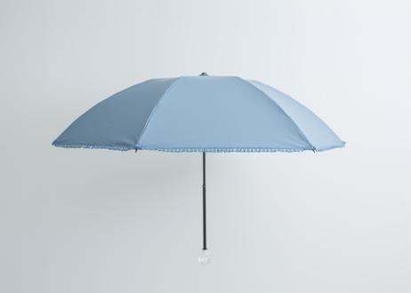 折傘 晴雨兼用フリンジ/かごめ編み