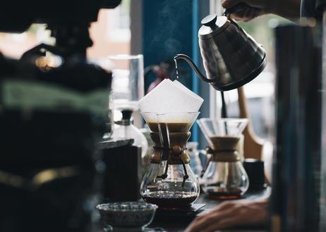 はじめまして シーシーエスコーヒーちはや本店です