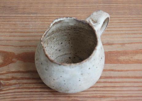 手びねりマグカップ 小 茶 1点もの