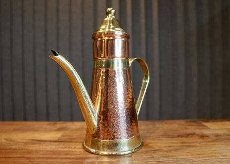 Vintage Brass & Copper Coffee pot