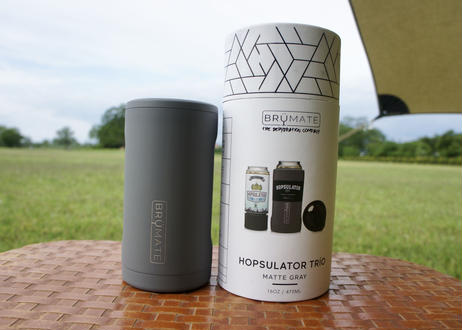 Brumate Hopsulator Trio 3-in-1 Can Cooler GRAY