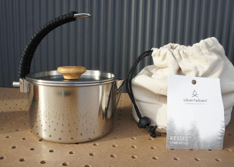 überleben Kessel Bushcraft Pot Kettle 1L