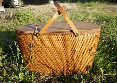 Vintage Redman Picnic Basket SIZE L
