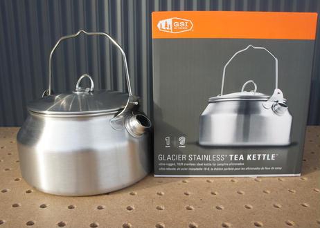 GSI GLACIER STAINLESS TEA KETTLE 1L