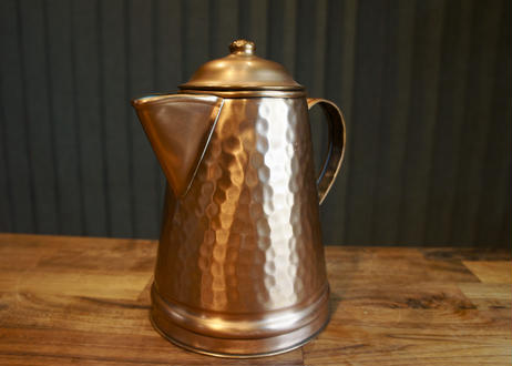 VINTAGE GREGORIAN COPPER POT