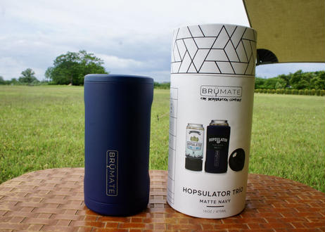 Brumate Hopsulator Trio 3-in-1 Can Cooler NAVY