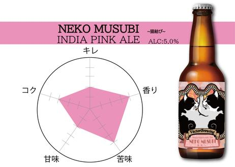 単品【6本セット】NekoMusubi~猫結び~