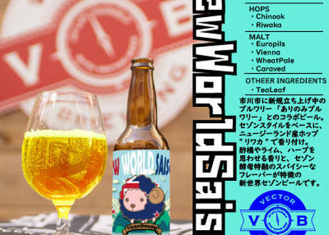 【VECTOR BREWING /3周年記念 限定ビール含む5種6本アソートセット】