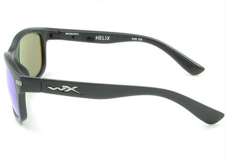 WILEY X WX HELIX 09 CAPTIVATE Blue Mirror(Smoke Grey) [Matte Black]  WXJ-AC6HLX09