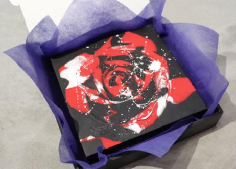 Paint Rose「絆」- Orange