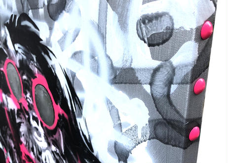 OVER ALLs ism Ⅱ -Silver & Pink-