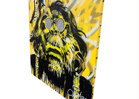 OVER ALLs ism Ⅱ - Yellow & Black-