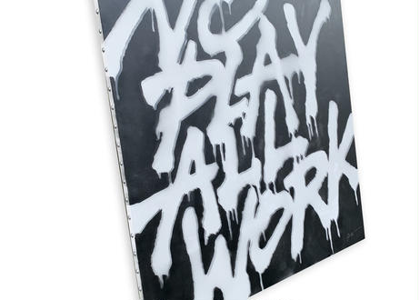 NO PLAY ALL WORK-black-