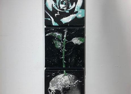 Paint Flower -DOKURO- ※3点セットです