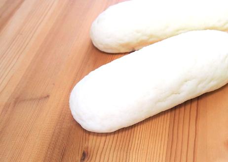 白いコッペパン