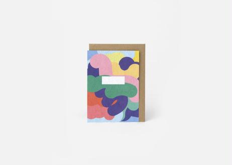 A6サイズメッセージカード / THE HELLO MASHMALLOW