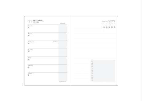 2022年版スケジュール帳_プランノート_FIELD