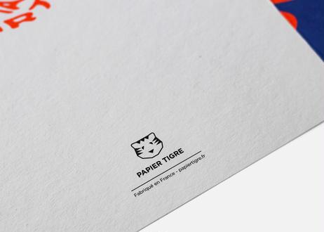 A5サイズメッセージカード / HAPPY RB(20SSPTGRC0335)