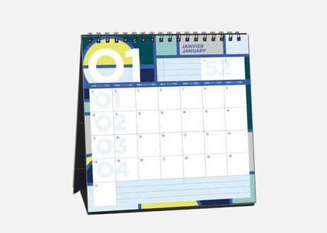 2022年版 卓上カレンダー