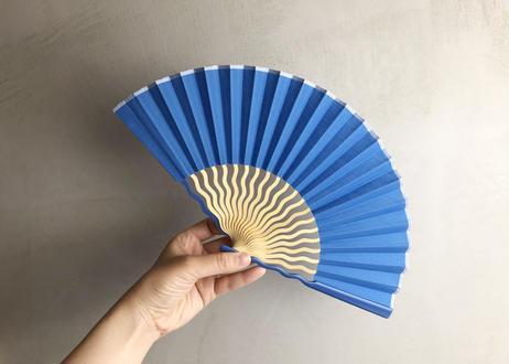 UNEUNE扇子 #BLUE