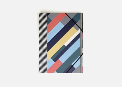 QUO VADIS × PAPIER TIGRE ファイルフォルダー / THE DIAGONAL