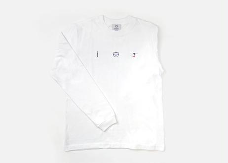 3rd ANNIVERSARY  Long T-shirts  WHITE