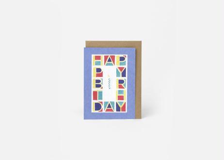 A6サイズメッセージカード / THE HAPPY CUBE