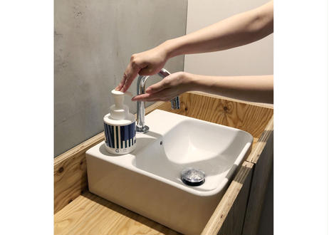 手洗い石けんバブルガード詰め替え専用ボトル RUBANS La Lune とバブルガードセット