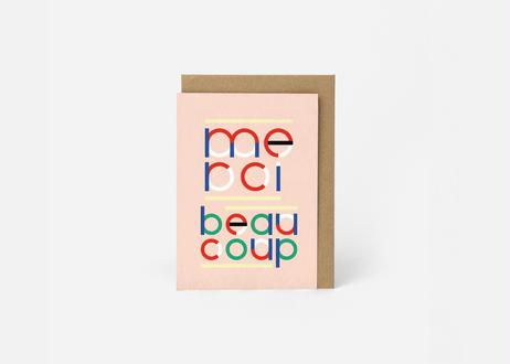 A6サイズ メッセージカード / MERCI BCP