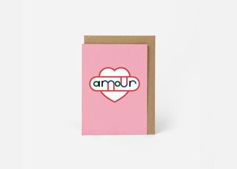 A6サイズ メッセージカード / AMOMUR